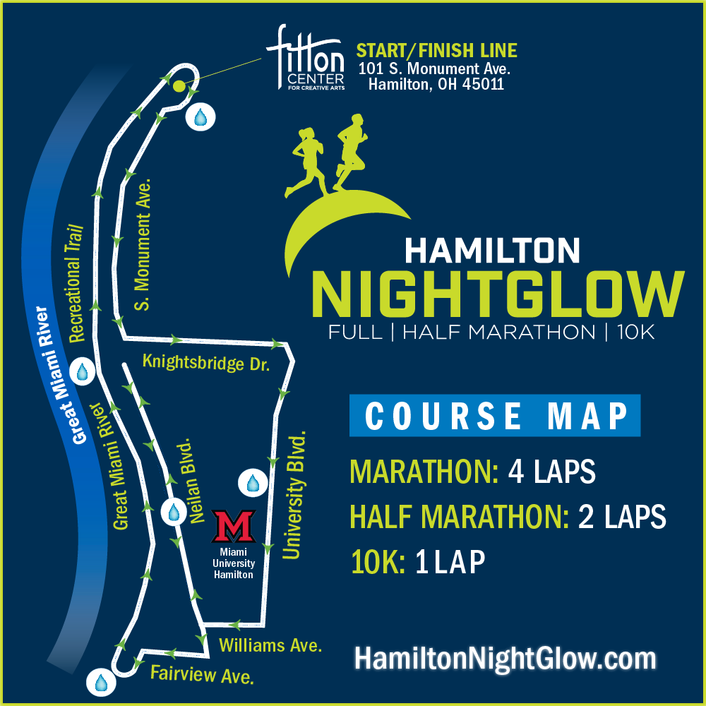 Course Map | NightGlow Marathon